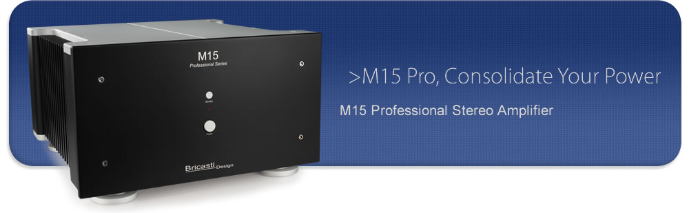 M15 Pro Stereo Amplifier