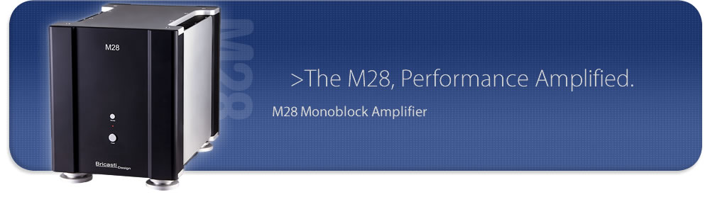 M28 monoblock amplifier